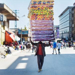 Addis Mercato der grösste Markt Afrikas in Äthiopien, Bild aus Afrika erhältlich im Onlineshop