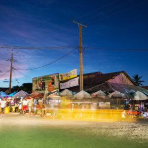 Nachtmarkt in Madagaskar, Bild aus Afrika erhältlich im Onlineshop