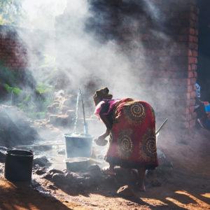 Licht in Afrika, das Bild aus Afrika ist erhältlich im Onlineshop