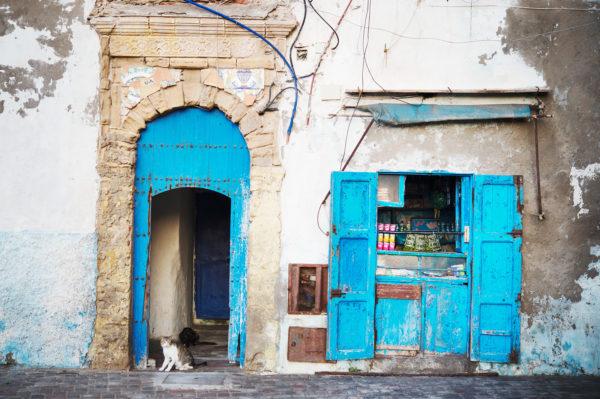 Altstadt von Essaouira, Marokk, Bild aus Afrika erhältlich im Onlineshop
