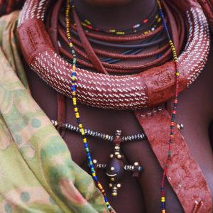 Schmuck von der Himba, Afrikanisches Hirtenvolk in Namibia, Bild aus Afrika erhältlich im Onlineshop
