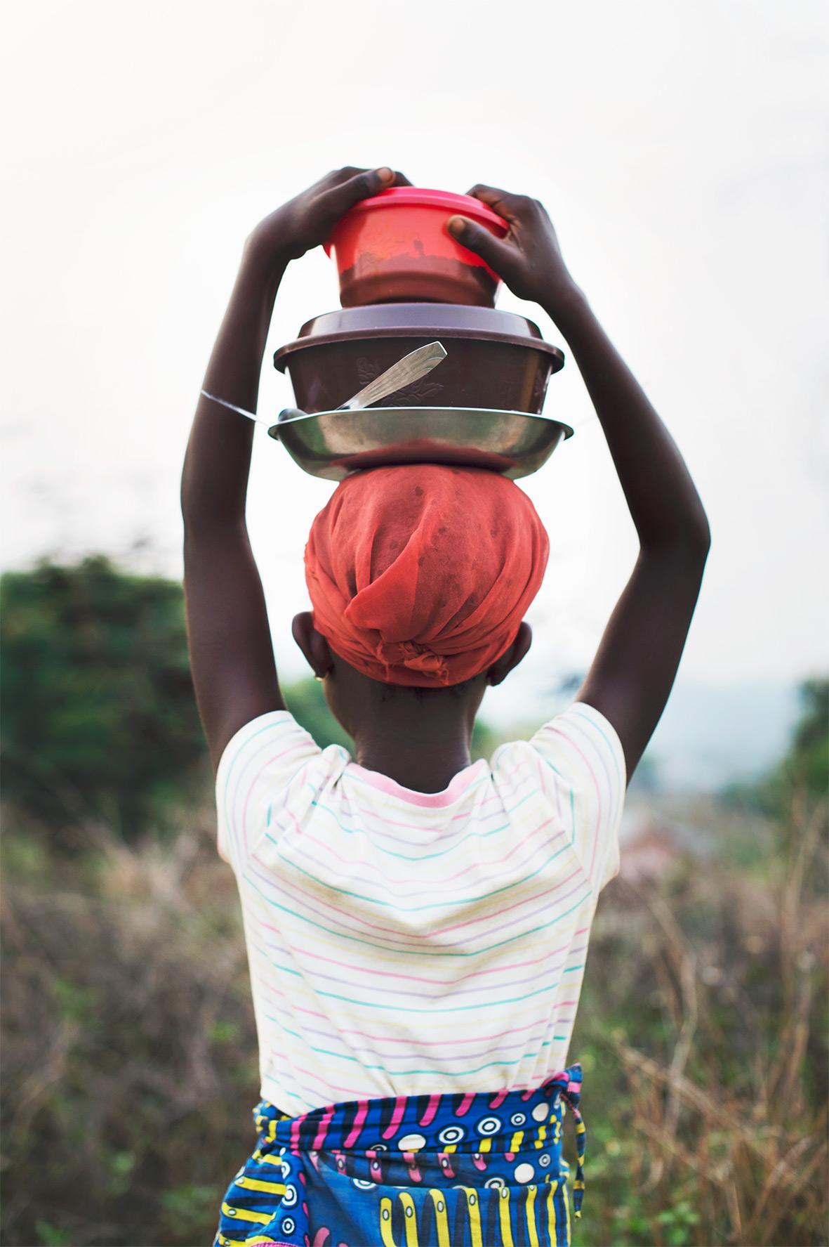 Leben in Afrika, das Bild aus Afrika erhältlich im Onlineshop