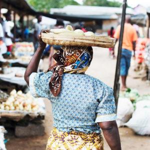 Leben in Afrika, auf dem Markt,