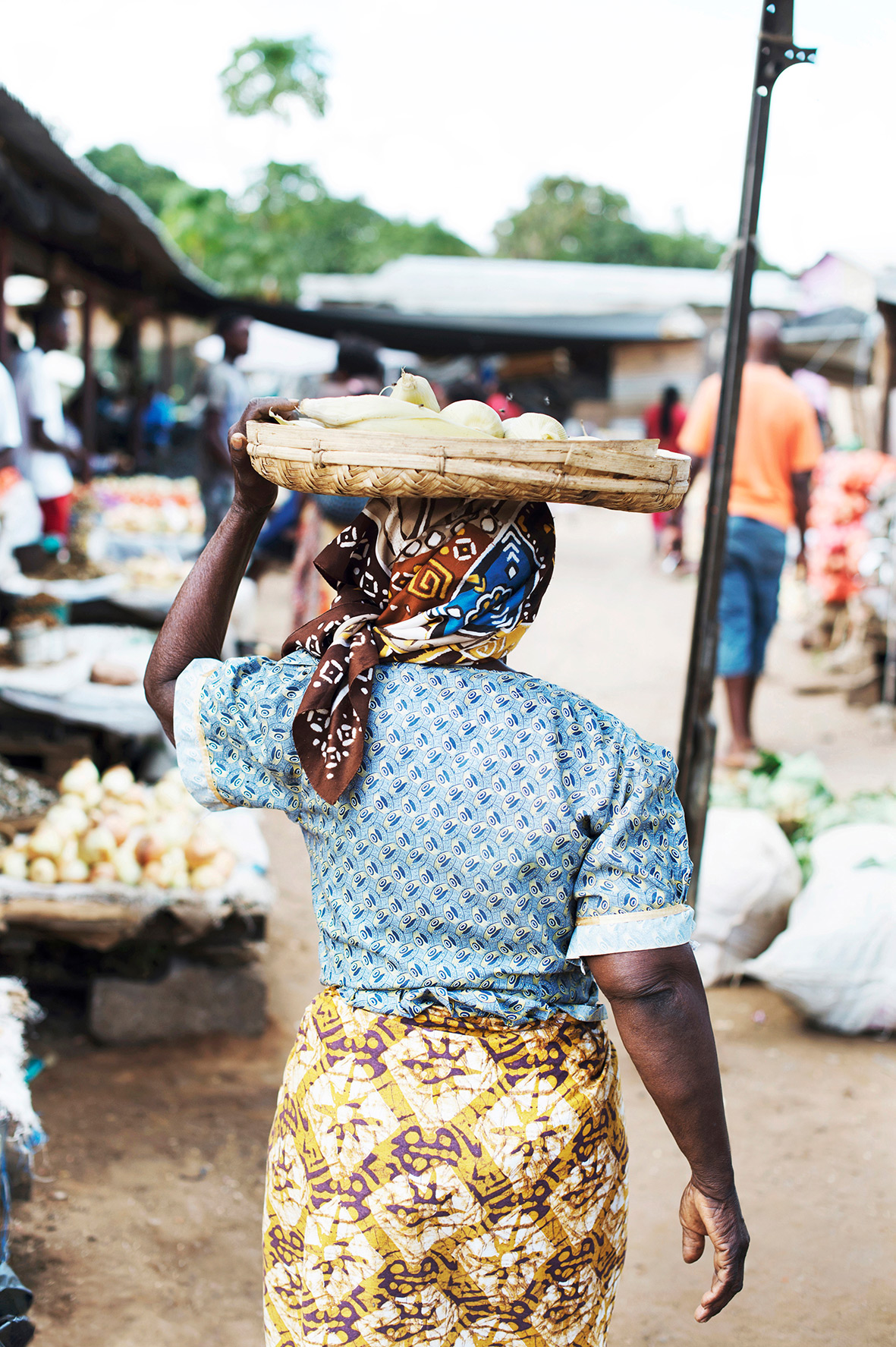 Leben in Afrika, auf dem Markt, Bild aus Afrika erhältlich im Onlineshop