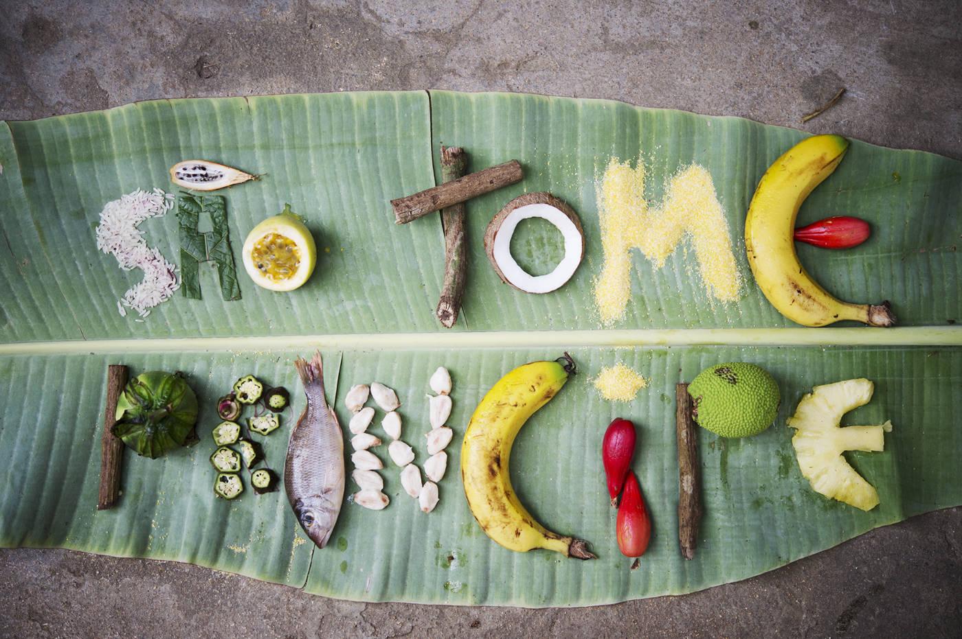 Essen in Sao Tome and Prinzipe. Afrikanische Zutaten für das Afrika Kochbuch Eating with Africa