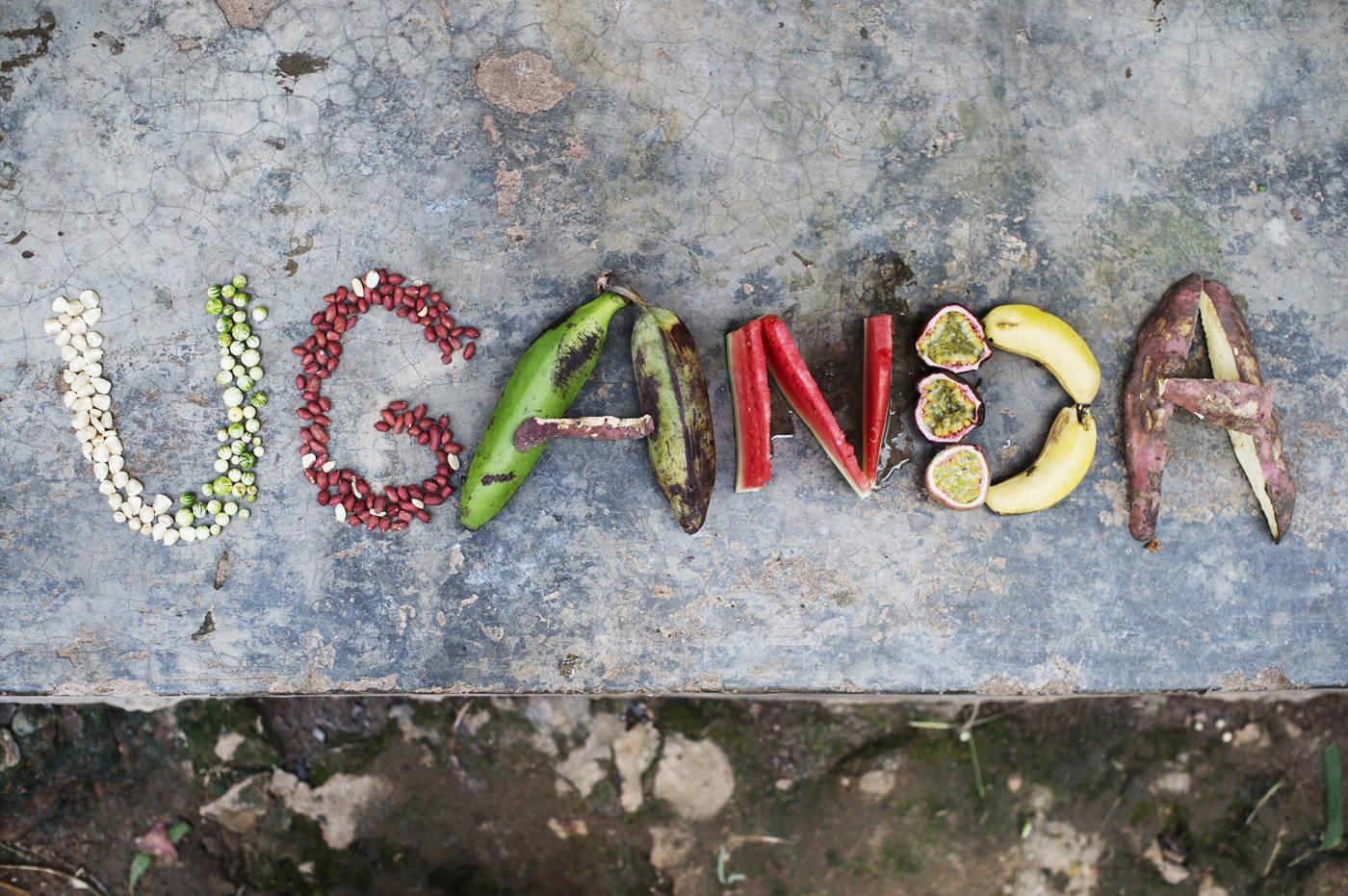 Essen in Uganda. Afrikanische Zutaten für das Afrika Kochbuch Eating with Africa