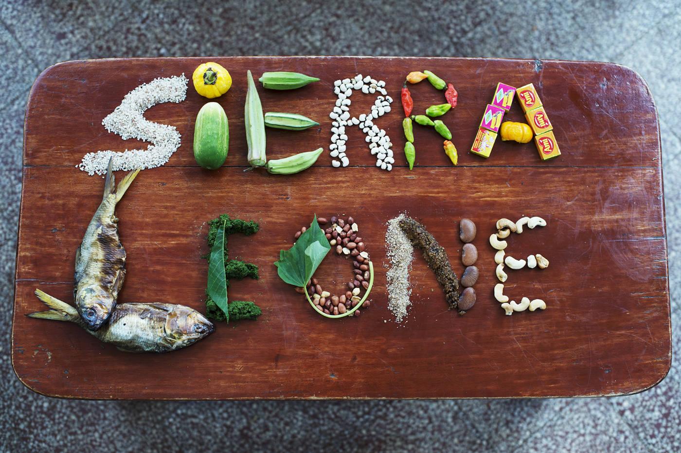 Essen in Sierra Leone. Afrikanische Zutaten für das Afrika Kochbuch Eating with Africa