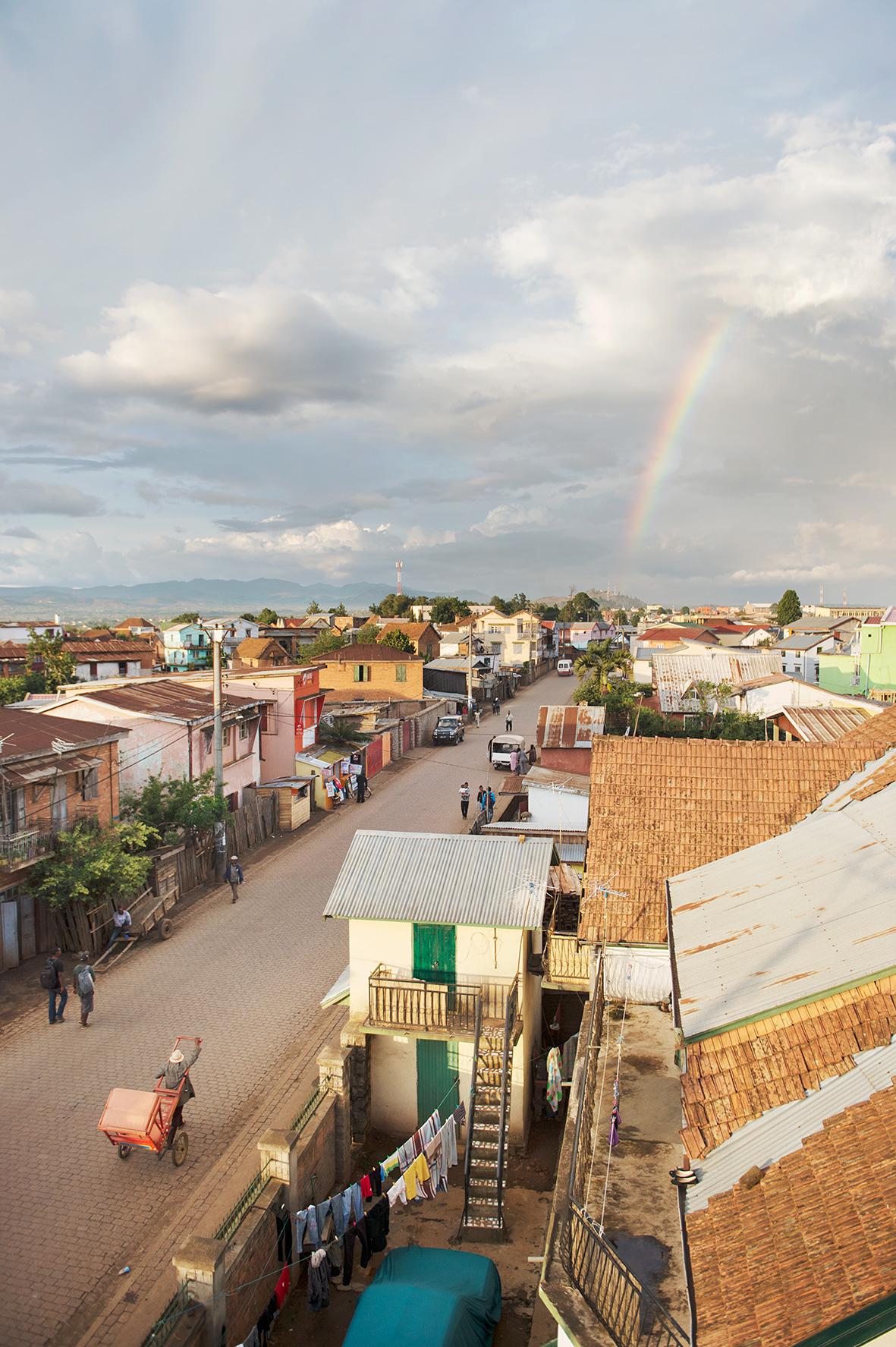 Regenbogen in Madagaskar, Bild aus Afrika erhältlich im Onlineshop