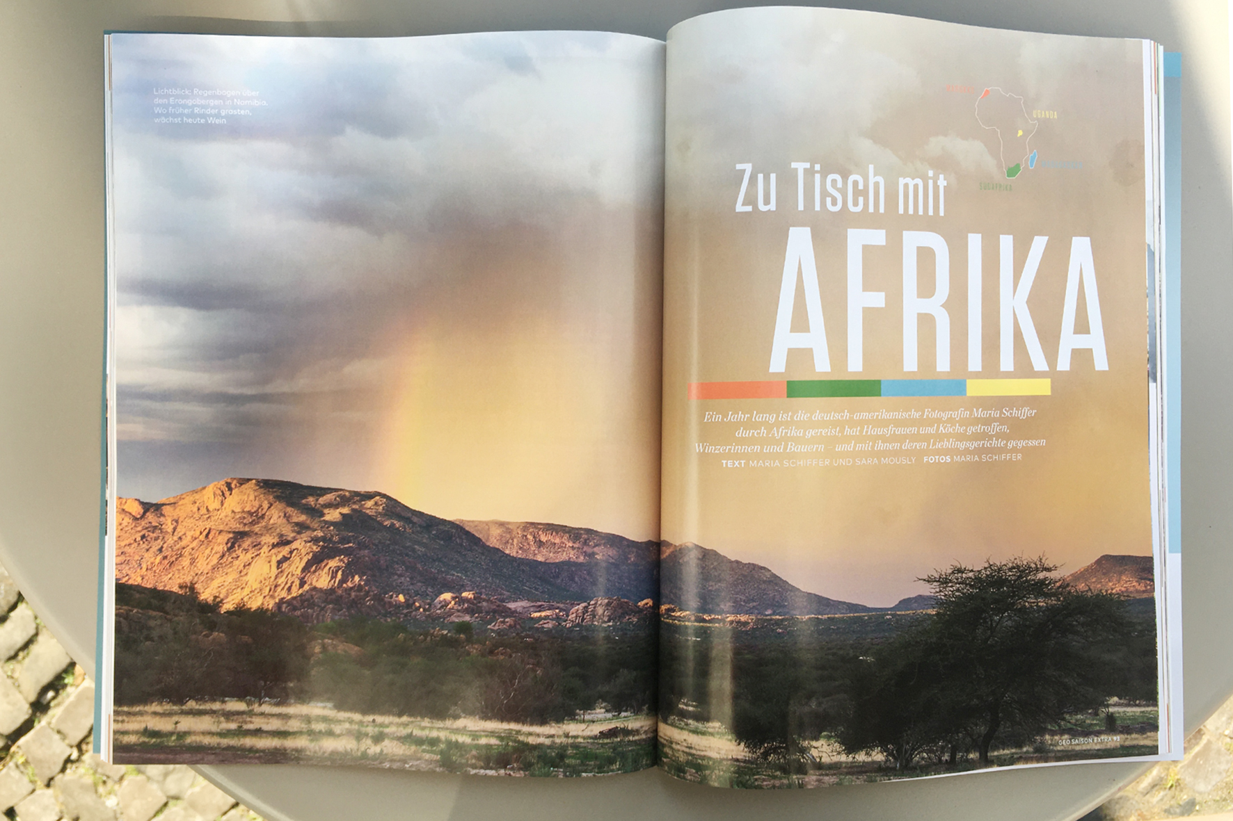 Geo Saison, Eating with Africa, Namibia, Maria Schiffer Fotografie