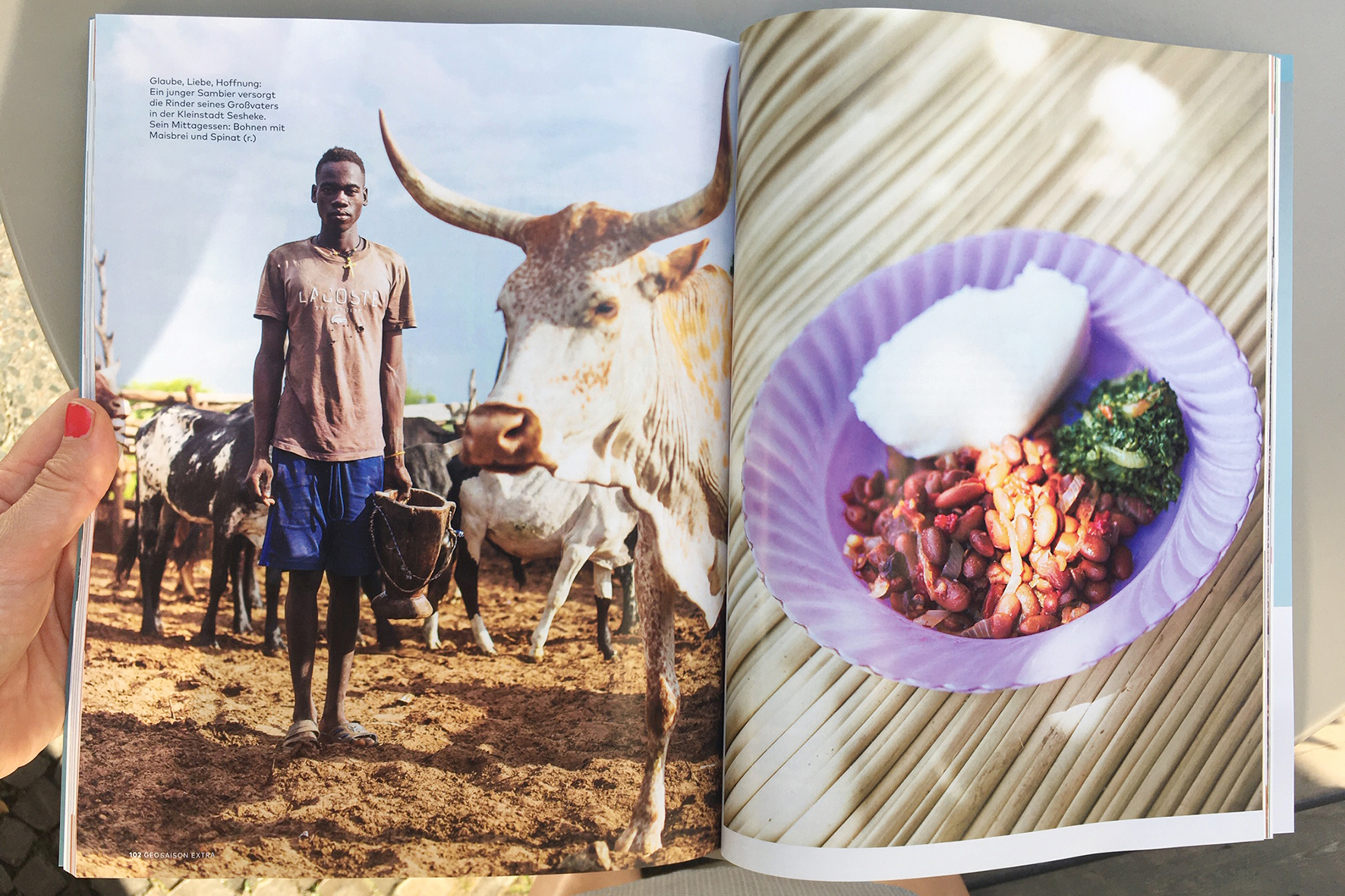 Geo Saison, Eating with Africa
