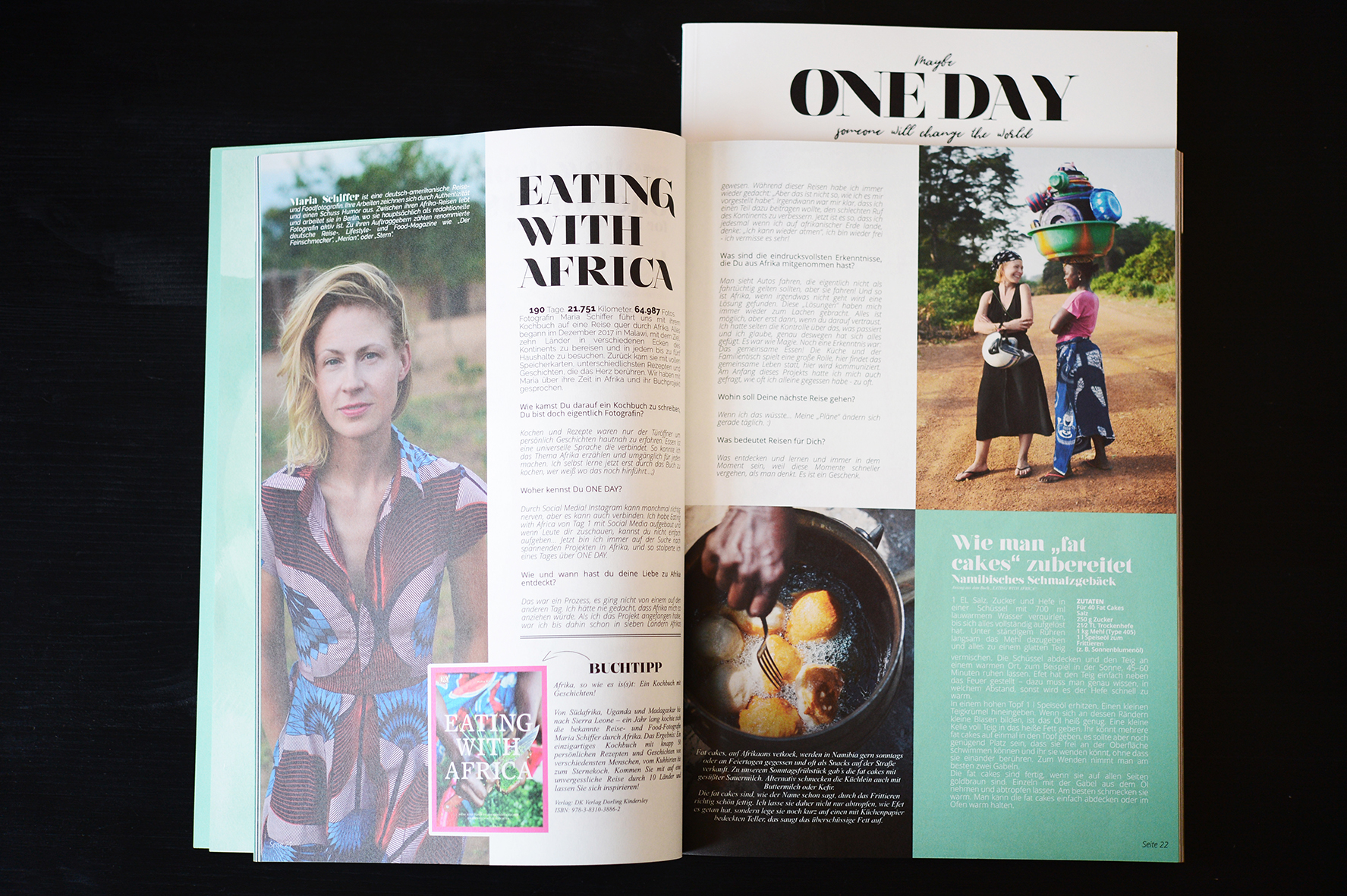 One Day, Eating with Africa, Maria Schiffer